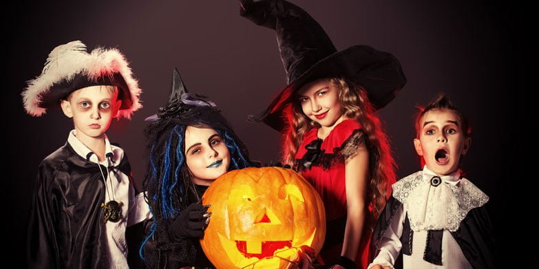 I was a kid, I think about eight or nine years old and I went on Halloween with my mom and sisters and we left around six in the evening